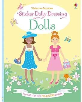 Harper Collins Sticker Dolly Dressing Dolls