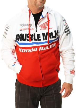 Lee Troy Designs Men's Honda Team Full Zip Fleece Hoodie