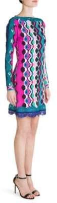Emilio Pucci Marilyn Lace Hem Sheath Dress