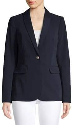 Tommy Hilfiger Single-Button Notch Lapel Jacket