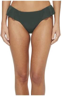 Robin Piccone Lina Ruffle Bikini Bottom Women's Swimwear