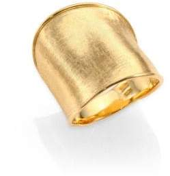 Marco Bicego Lunaria 18K Yellow Gold Large Band Ring