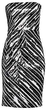 Parker Black Women's Enid Strapless Sequin Bodycon Dress