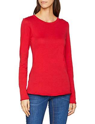 Marc O'Polo Denim Women's 849225952823 Longsleeve T-Shirt, (Cream White 102), Large
