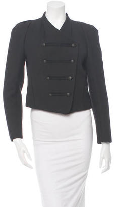 Sandro Wool Military Jacket $175 thestylecure.com