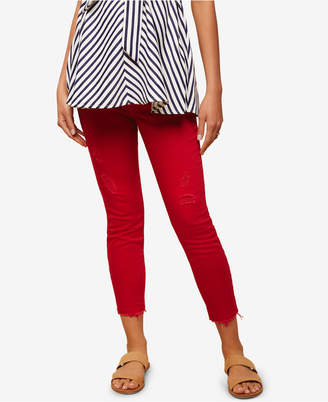 Jessica Simpson Maternity Twill Skinny Pants $44.98 thestylecure.com