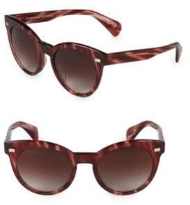 Oliver Peoples Dore 51MM Round Sunglasses