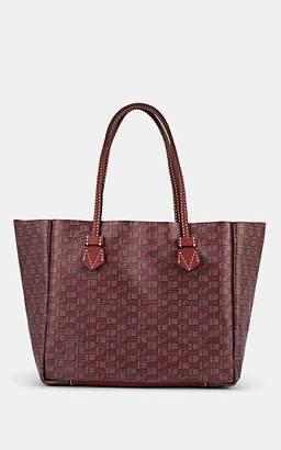 Moreau Paris Women's Vincennes Medium Leather Tote Bag - Burgundy