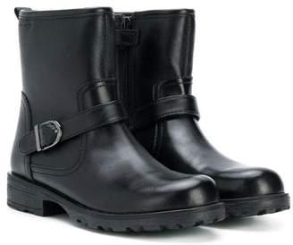 Geox Kids side buckle boots