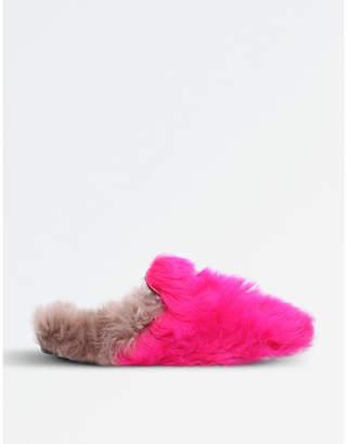 Gucci Princetown merino wool slippers