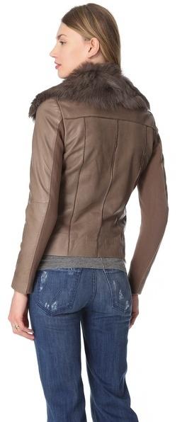 Muu Baa Muubaa Henely Leather Jacket