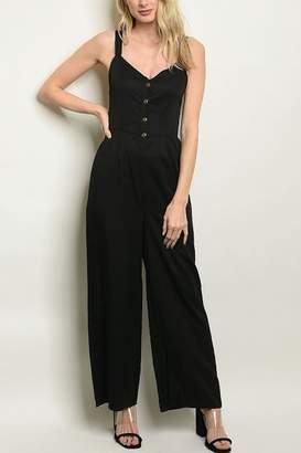 Lyn Maree's Simple Black Jumpsuit