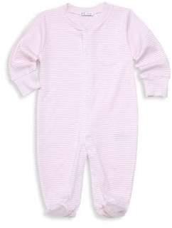 Kissy Kissy Baby Girl's Stripe Cotton Footie