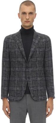 Tagliatore Single Breasted Virgin Wool Blend Jacket