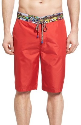 Men's Robert Graham Boundless Board Shorts $148 thestylecure.com