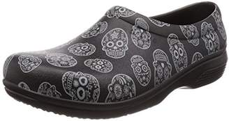 Crocs Unisex Adults' On The Clock Graphic Work Slip-On Clogs, (11 US)