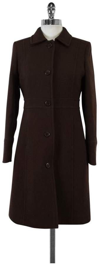 J. Crew Brown Wool Coat