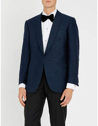Richard James Hyde slim-fit silk tuxedo jacket