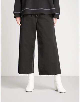 Maison Margiela Regular-fit wide-leg high-rise jeans