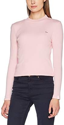 Lacoste Women's TF7291 Long Sleeve Top,(Manufacturer Size: L)