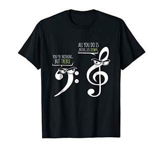 Funny Marching Band T Shirts Nothing But Treble Music School