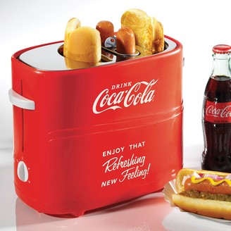 Nostalgia Electrics Limited Edition Coca-Cola Pop-Up Hot Dog Toaster