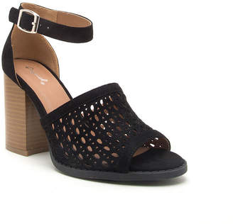 Qupid Womens Brammer-22 Heeled Sandals