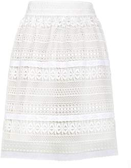 Burberry Carwinley lace skirt