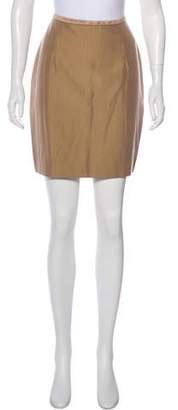 Lela Rose Mini Pencil Skirt