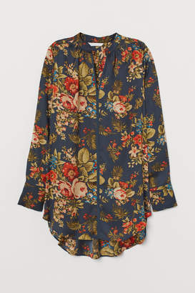 H&M Long Blouse - Turquoise