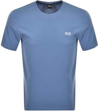HUGO BOSS Boss Business Crew Neck T Shirt Blue
