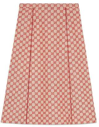 Gucci GG canvas skirt