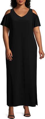 MSK Short Sleeve Maxi Dress - Plus