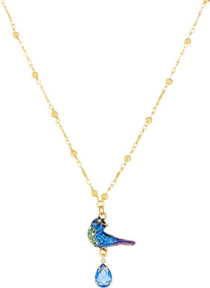 Kirks Folly Blue Bird of Happiness Necklace