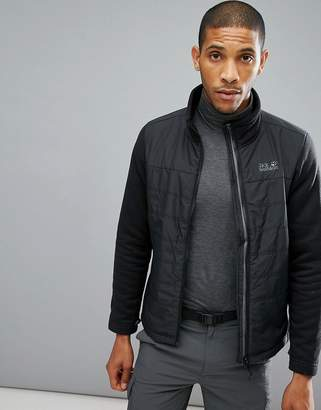 Jack Wolfskin Caribou Crossing Jacket in Black
