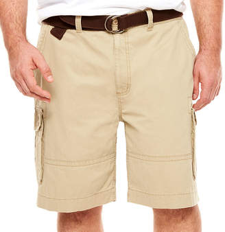 Co THE FOUNDRY SUPPLY The Foundry Big & Tall Supply Relaxed Fit Twill Cargo Shorts - Big and Tall
