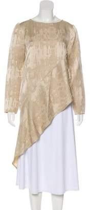 Zero Maria Cornejo Linen Long Sleeves Tunic w/ Tags