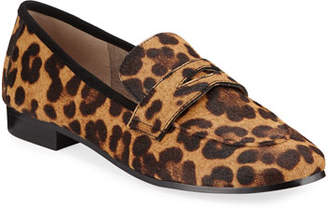 Marc Fisher Changly Leopard Loafers