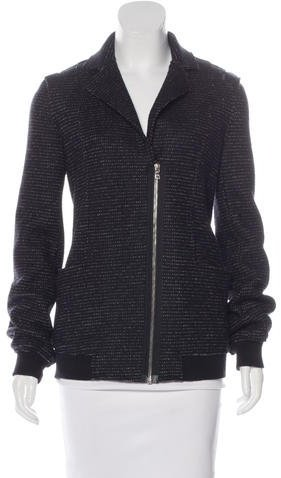 Alexander Wang Alexander Wang Virgin Wool Bomber Coat