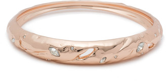Alexis Bittar Skinny Tapered Rocky Metal Bangle Bracelet