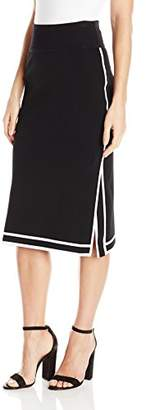 KENDALL + KYLIE Women's Sports Border Skirt
