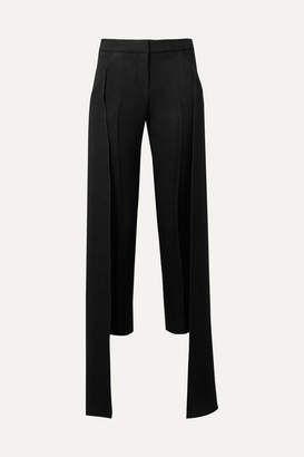Hellessy Mojave Layered Canvas Tapered Pants - Black