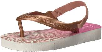 Havaianas Sandal Flip Flop Sandals with Backstrap, Baby/Toddler, Chic