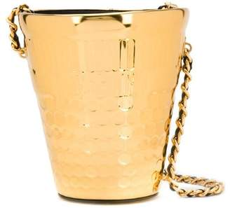 Moschino metal bucket bag