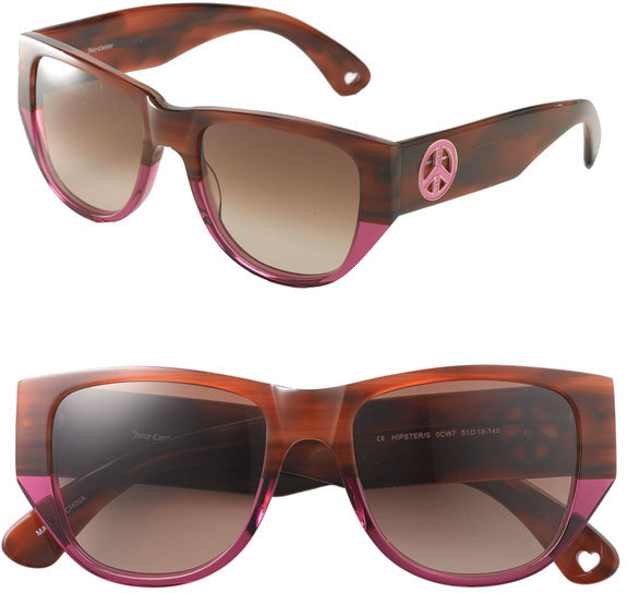 Shades of Couture by Juicy Couture 'Hipster' Two Tone Sunglasses