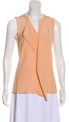 Akris Silk Sleeveless Blouse