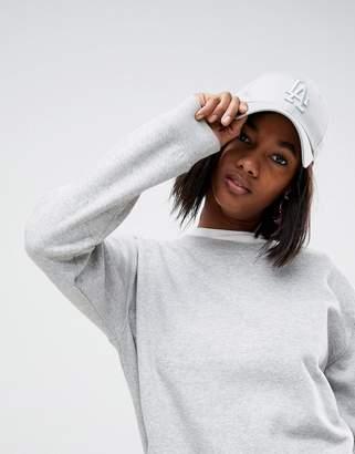 New Era 9Forty LA Light Gray Tonal Cap