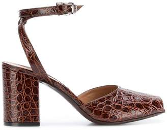 93fccda0d7d Marni Brown Ankle Strap Sandals For Women - ShopStyle Canada