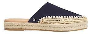 Sam Edelman Women's Austin Leather Espadrille Mules
