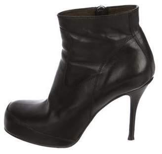 Rick Owens Platform Ankle Boots
